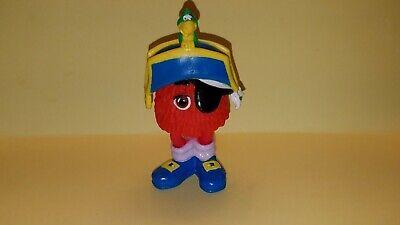 Vintage 1990 McDonald's Matey McFry w/ Pirate Hat, Bird & Eye Patch