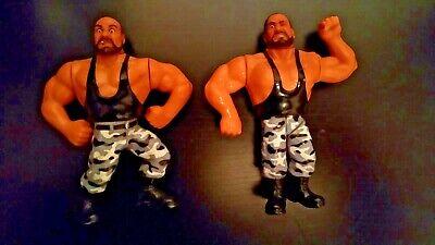 The Bushwhackers pupazzi action figure wrestling WWF WWE anni Novanta Hasbro