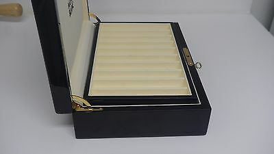 Montblanc * 20 Pen Collectors Case * Wooden Piano Black Lacquer Presentation