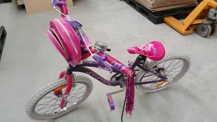 Girl's Barbie Bike