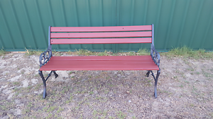 Cast Iron Garden Bench Seat Leeming Melville Area Preview