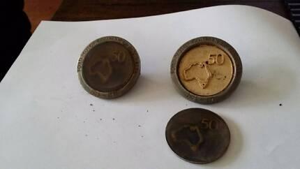 Vintage 1925 - 1975 50 yr Anniversary Ford Motor company badge Craigieburn Hume Area Preview