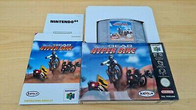 Top Gear Hyper Bike N64 Complete Good Condition