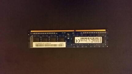 Kingston 4GB PC3L 12800U DDR3 1600 1.35v/1.5v dimm Desktop RAM Auburn Auburn Area Preview