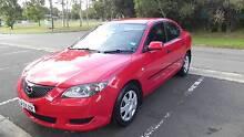 2005 Mazda3 NEO Sedan Auto low KM (67500) Red colour with extras Ermington Parramatta Area Preview