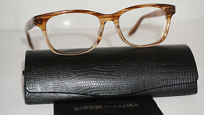 Barton Perreira RX Eyeglasses New Little Darlin Anjou Rose 50 17 (Rose Eyeglasses)