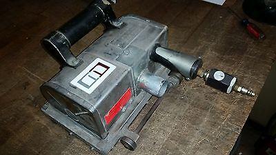 Von Arx FR-100 Concrete Stone Steel Scaler Scarifier, Grinder WITH DUST COLL
