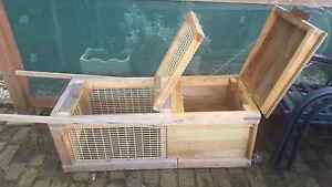 Home made rabit hutch Ravenswood Charters Towers Area Preview