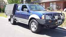 2005 Nissan Navara 4x4 turbo diesel with rego and rwc Jacana Hume Area Preview