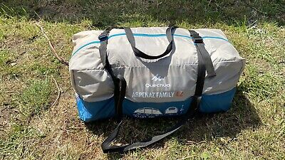 QUECHUA Arpenaz Family 4.2 Tent - 4 Person / 2 Separate Bedrooms