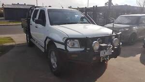 2008 Nissan Navara Duel Cab Tray Ute 4X4 TURBO DIESEL EXTRAS Williamstown North Hobsons Bay Area Preview