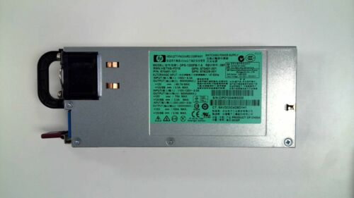 HP SWITCHING POWER SUPPLY DPS-1200FB-1 A 1200W HSTNS-PD19 570451-001 NO CORDS