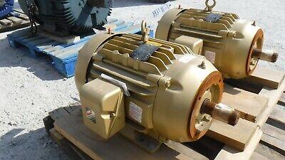 15 Hp Baldor-reliance Ac Electric Motor 3600 Rpm Fr 254tc Tefcbb 230460 V New