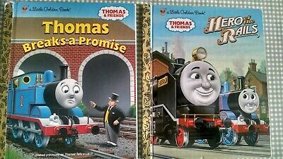 Thomas the Train Little Golden Books Lot of 2 Thomas and Friends