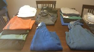 Mens Large sweaters + shirts - All for $30
