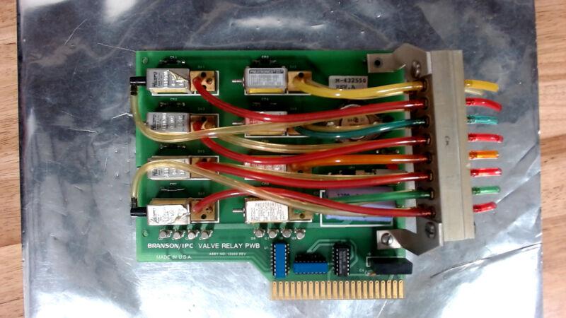 BRANSON - M-432550 - IPC VALVE RELAY PCB