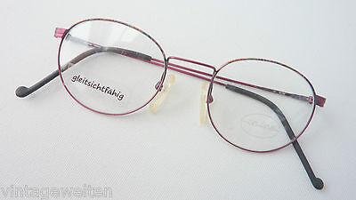 Optikerbrille Metallbrille dünnrandig leicht schmale Gesichter 45-20  Grösse S