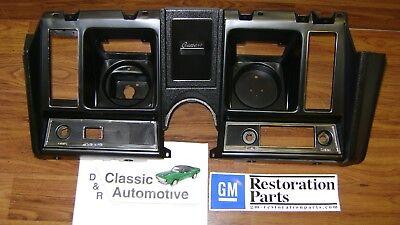 69 Camaro Dash Instrument Housing plastic guage bezel