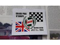 Decal 1985 Lucas Truck Superprix Brands Hatch Race Motorsport Lorry Sticker