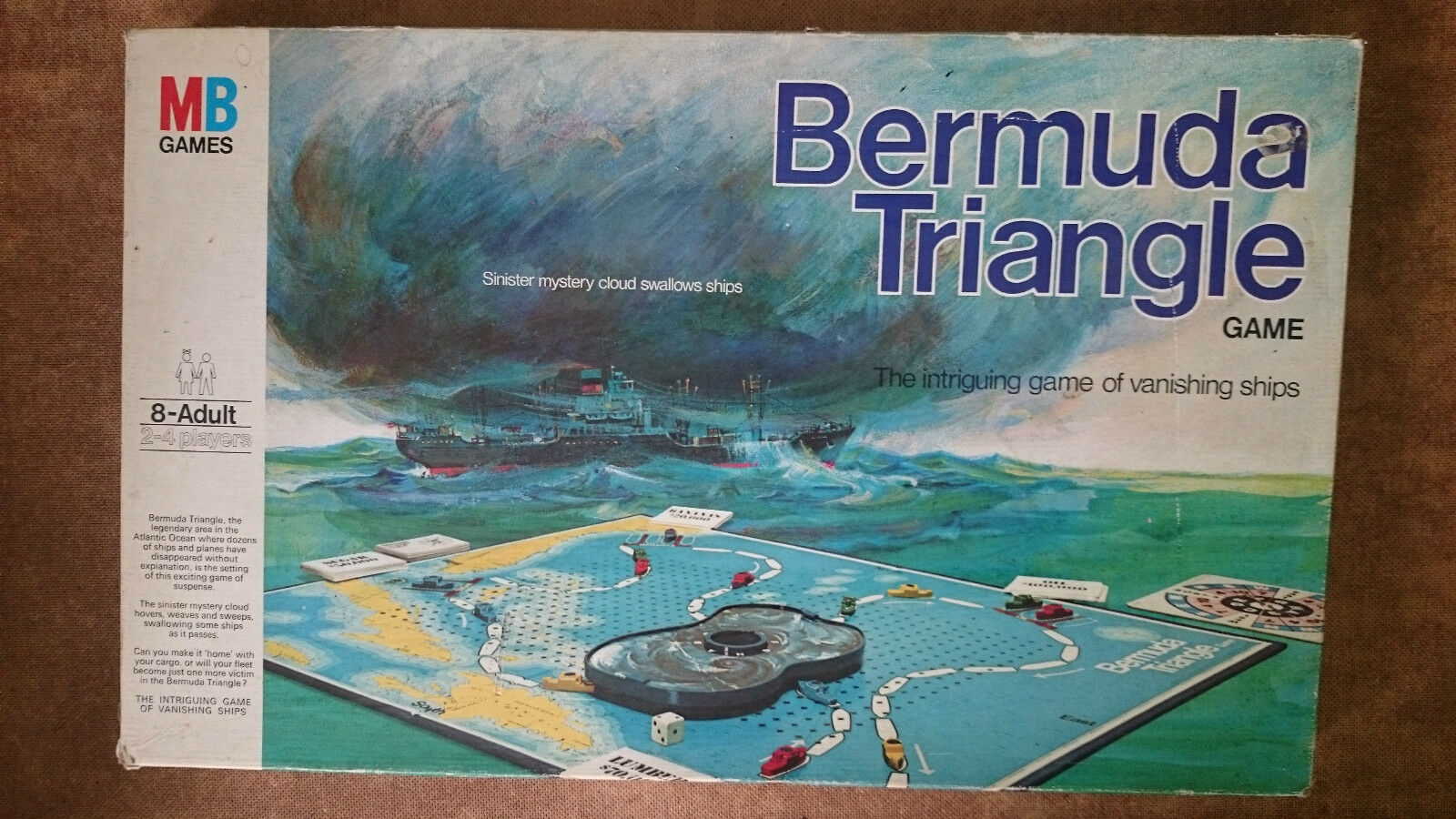 Bermuda Triangle   Game  by MB 1976