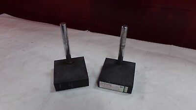 Platco Granite Surface Plate 6 X 6 X 2 18 With 8 Column