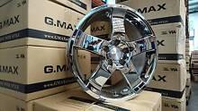 """(Audi Q3, Q5, VW Tiguan) G.MAX 18"""" CHROME Bona Fide Wheels+Tyres Mitcham Whitehorse Area Preview"""