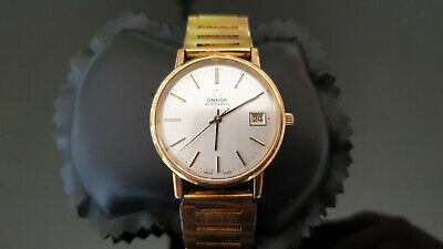 Vintage Gents gold plated Omega Automatic