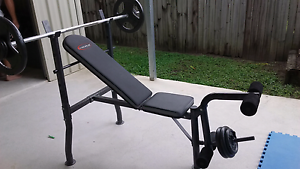 $50   Gym set n  Fitness as new Trinity Park Cairns Area Preview