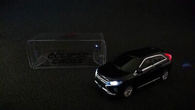 Mitsubishi Eclipse Cross LED Light Model Car Black Diecast Store Limited