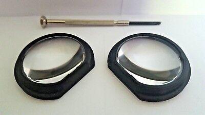 HTC Vive GearVR Lens Mod Upgrade Kit (Includes Lenses, Adaptors & Tools) - Black