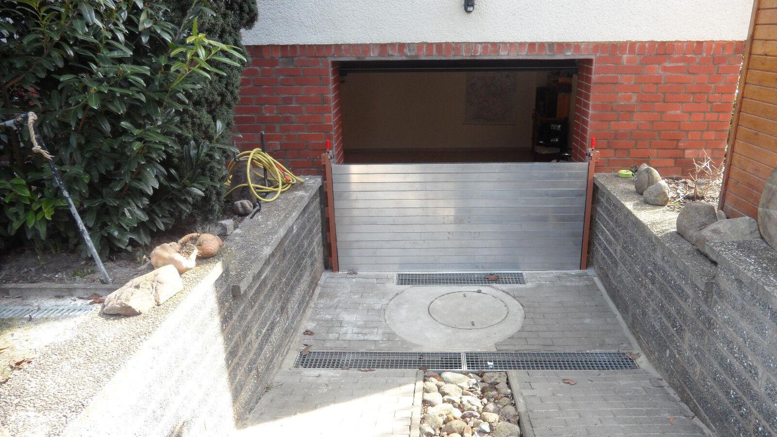 hochwasserschutz aluminium dammbalken mobiles system eur. Black Bedroom Furniture Sets. Home Design Ideas