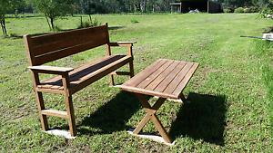 Rustic handmade Garden table Rossmore Liverpool Area Preview