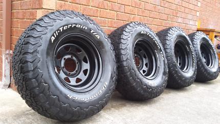 BFG 285/75/r16 all terrain tyres