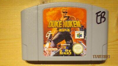 Duke Nukem 64 for Nintendo 64 N64. Cart Only. Pal