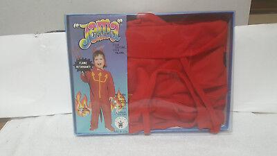 VINTAGE 1988 JAMA COSTUMES - RUBIES DEVIL HALLOWEEN COSTUME TODDLER / NEW !!