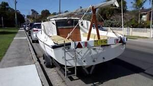 Griffin GTS17 trailer sailer