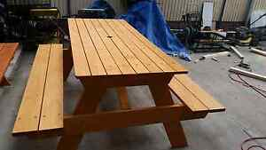 Picnic table customer made Rothwell Redcliffe Area Preview