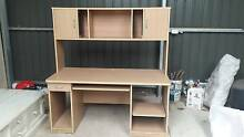 Tall study desk with drawer and cupboards Hawthorn Mitcham Area Preview