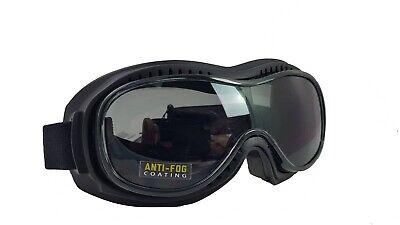 Motorradbrille Piwear Toronto smoke Überbrille Brillenträger freundlich
