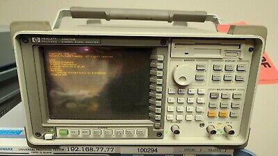 Hp 35670a Fft Dynamic Signal Analyzer Dual Ch Options 1d0 1d1 1d2 1d3 1d4 1c2