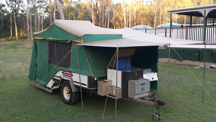 Campomatic Ranger Off-road Hard Floor Camper.