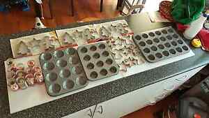 Christmas baking trays and utensils St Clair Penrith Area Preview