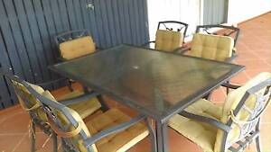7 piece outdoor dining set Gympie Gympie Area Preview