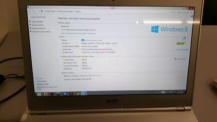 Acer Aspire S7 Ultrabook core i5 Woodcroft Morphett Vale Area Preview