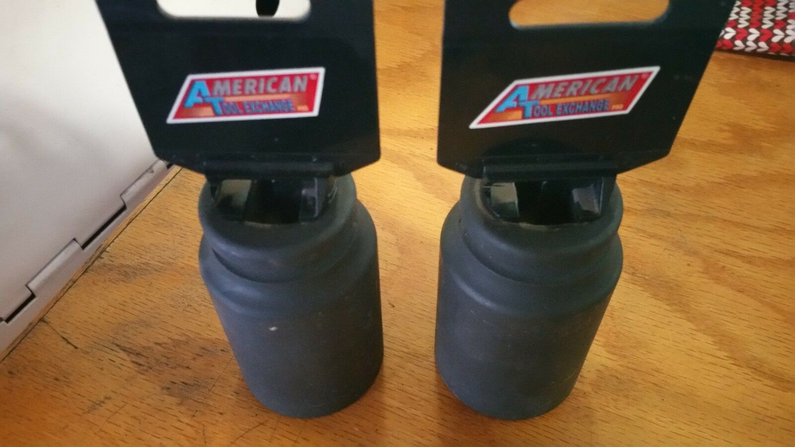 "ATE Tools 3/4' Dr X 1-1/2"" Deep Air Impact Industrial Sockets SAE Standard 2 pcs"