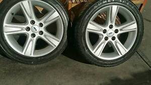 Ford Rims and Tyres 235/45R17 Dandenong South Greater Dandenong Preview