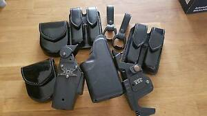 Various leather/plastic utility belt items for sale or trade Brighton Bayside Area Preview