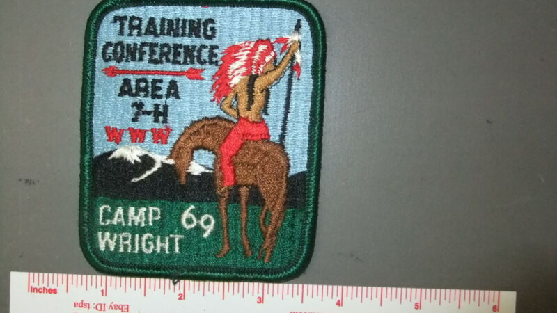 Boy Scout OA Area 7-H 1969 Conference Camp Wright 7271II
