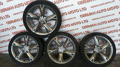 "Genuine Audi A5 Y shape alloy wheels 19"" with tyres 8.5J19H2 ET32"