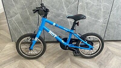 Hoy Bonaly 14 Inch Bicycle - Super light. Blue - Very Good Condition